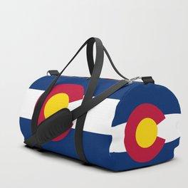 Colorado State Flag Duffle Bag