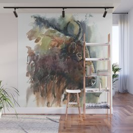 Bison. Wall Mural
