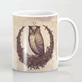 Owl Hedera Moon Coffee Mug