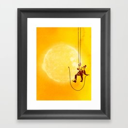 Forever Longing Framed Art Print
