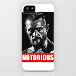 NOTORIOUS CONOR MCGREGOR iPhone Case