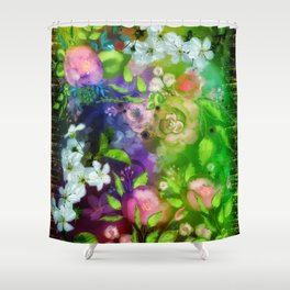 Floral Fantasy 8 Shower Curtain