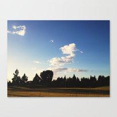Open Fairway Canvas Print