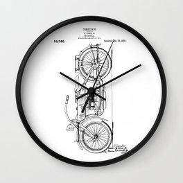 Harley Patent: Model W Wall Clock