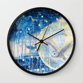 The First Full Moon Wall Clock