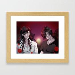 James Cooper and Alex Cooper Framed Art Print