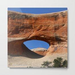 Tunnel Arch Metal Print