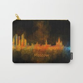 Moscow City Skyline art HQ v4 Carry-All Pouch