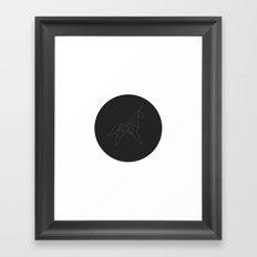 Metricorn Framed Art Print