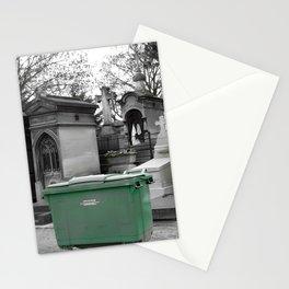 """Le recyclage (Cimetiere du Pere Lachaise, Paris) """"A SAFE PLACE"""" series Stationery Cards"""