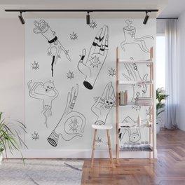 Eye Gotta Hand It To You Wall Mural