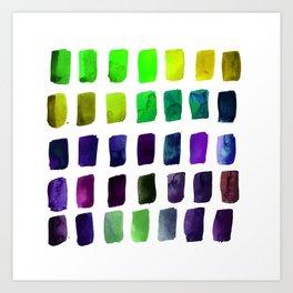 Brushstrokes 1o by Kathy Morton Stanion Art Print