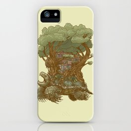 Atlas Reborn iPhone Case