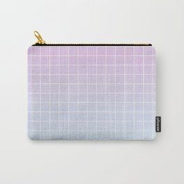 gradient grid Carry-All Pouch