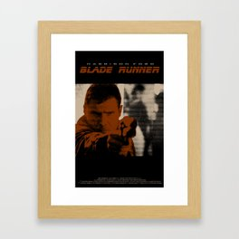 Blade Runner - Deckard Framed Art Print