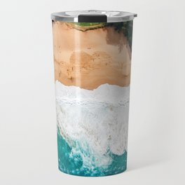 Waimea Bay Aerial Travel Mug