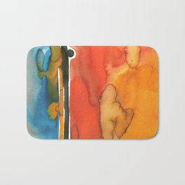 Landscape with Argonauts - Abstract 005 Bath Mat