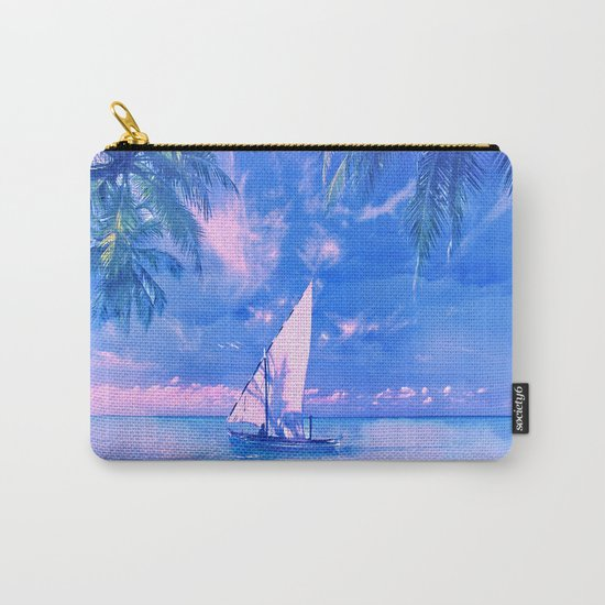 Tropical yachting Carry-All Pouch