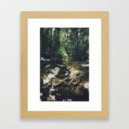 joffre lakes (2) Framed Art Print