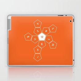 Orange Unrolled D12 Laptop & iPad Skin