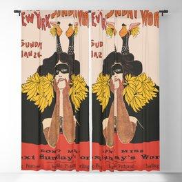 Vintage New York Magazine  Blackout Curtain