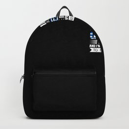 Greece Vacation Gift Backpack