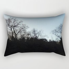 Nature, landscape and twilight 2 Rectangular Pillow