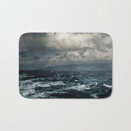 wild ocean Bath Mat