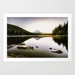 Fantastic Morning - Mount Hood Reflection Art Print
