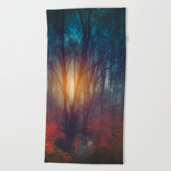 cRies and whiSpers Beach Towel