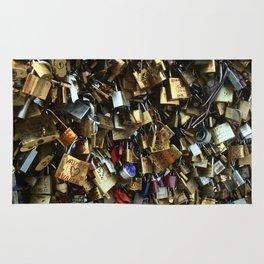 Love Lock Bridge Rug