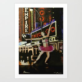 Summer in the City.3 Art Print