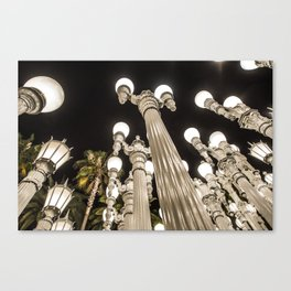 MOCA Lights - 1 , Los Angeles CA  Canvas Print