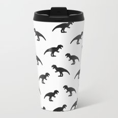 T-Rex Pattern Travel Mug