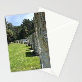 Tabby Houses at Kingsley Plantation Stationery Cards