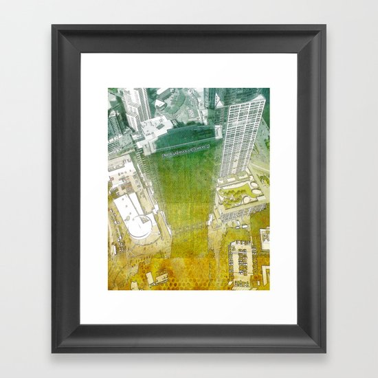 view from Eureka Framed Art Print