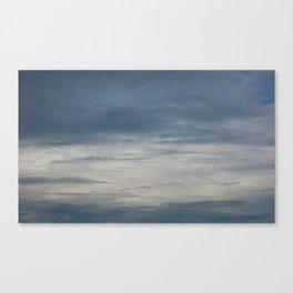 Summer Evening Sky Canvas Print