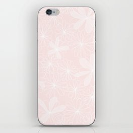 Daisies in Love - Floral Daisy Summer Pattern iPhone Skin
