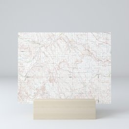 SD Wall 344721 1981 topographic map Mini Art Print