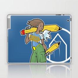 Pencil Warrioress Laptop & iPad Skin