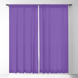 From The Crayon Box – Royal Purple - Bright Purple Solid Color Blackout Curtain