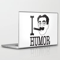 humor Laptop & iPad Skins featuring I __ Humor by senioritis