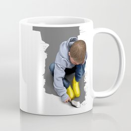 To Live with No Thought for the Future Coffee Mug
