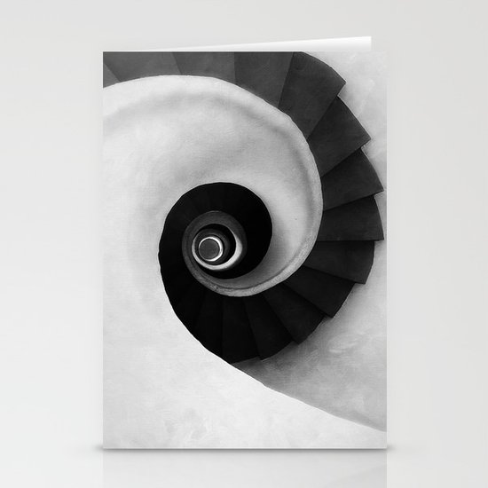 Minimal B&W IV Stationery Cards