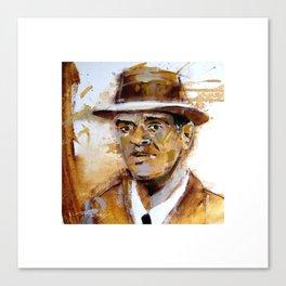 secret agent man Canvas Print