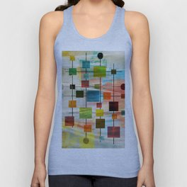 MidMod Graffiti 4.0 Unisex Tank Top