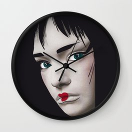 Geisha 2.0 Wall Clock
