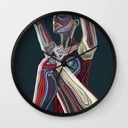 Dancing Flame Wall Clock