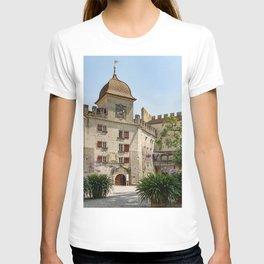 Switzerland Lenzburg Kanton Aargau Bush Cities Building Houses Shrubs T-shirt