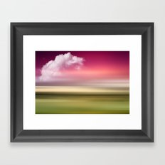 The Sound of Light and Color - Fresh Spring Framed Art Print